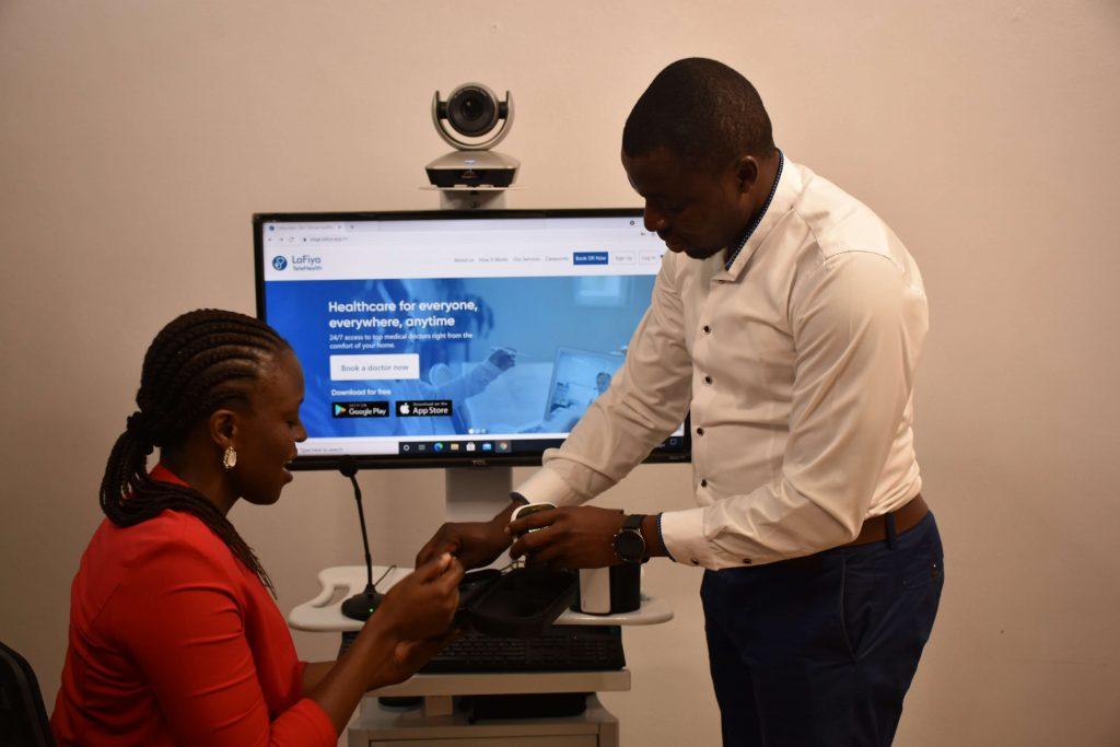 Lafiya telehealth launches innovative medical health care points kits
